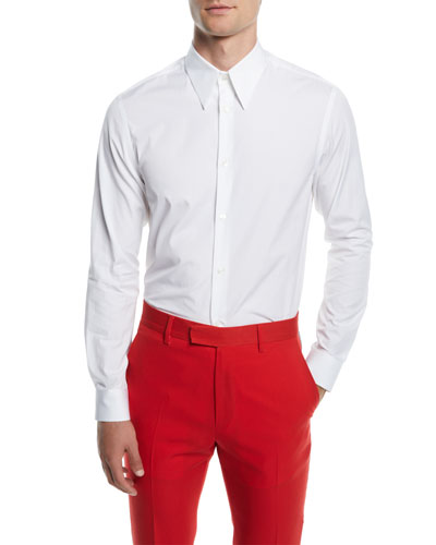 Men's Poplin Basic Sport Shirt