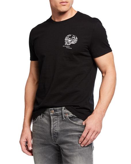 Alexander McQueen Men's Graphic Print T-Shirt