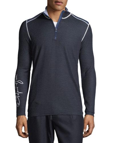 Men's Quarter-Zip Ski Shirt
