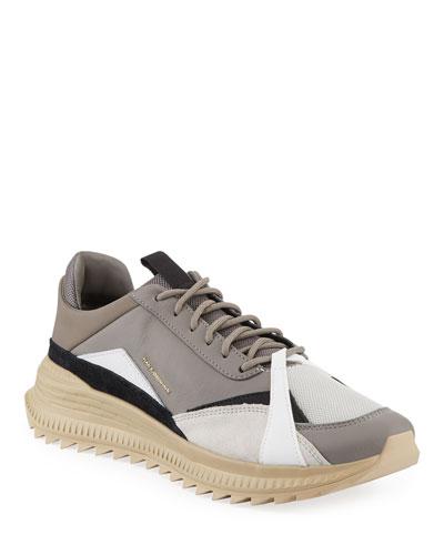 Men's x Han Kjobenhavn Avid Colorblock Leather Sneakers