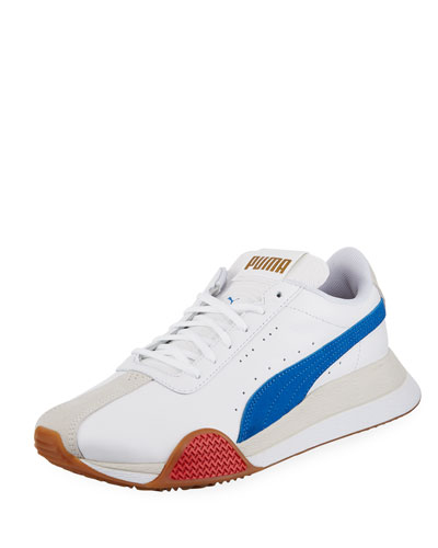 Men's Turin Leather Trainer Sneakers