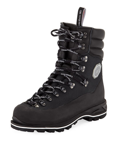 Men's Leather Mountain Boots