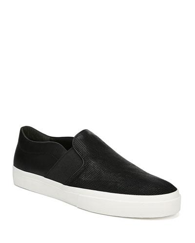 Men's Fenton Perforated Suede Low-Top Sneakers