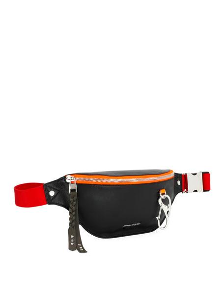 Alexander McQueen Men's Harness Belt Bag/Fanny Pack