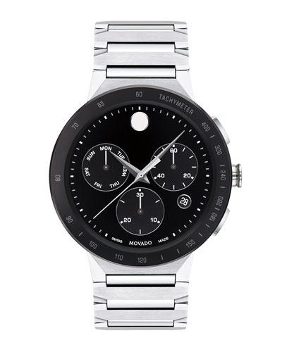 Men's Sapphire Sport Bracelet Watch