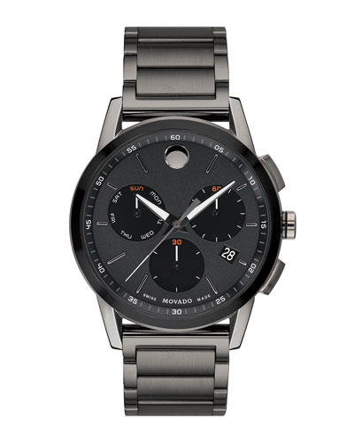 Men's Museum Sport Chronograph Bracelet Watch