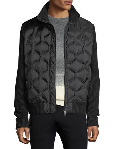 Men's Danvey Quilted Zip-Front Jacket