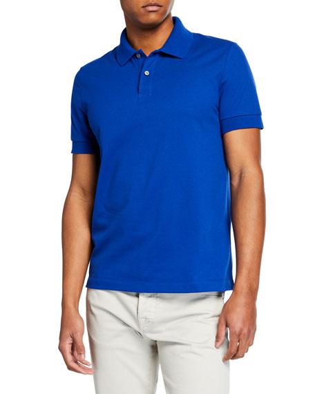Berluti Men's 2-Button Cotton Polo Shirt