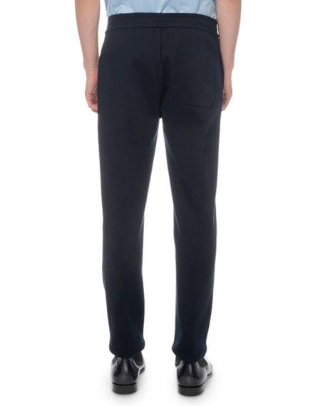 Berluti Men's Solid-Knit Jogger Pants