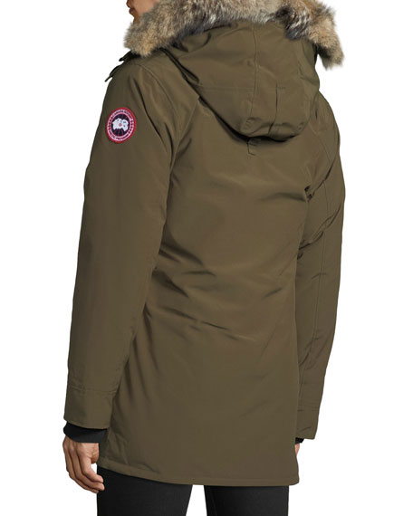 Canada Goose Men's Langford Arctic-Tech Parka Jacket with Fur Hood - Fusion Fit