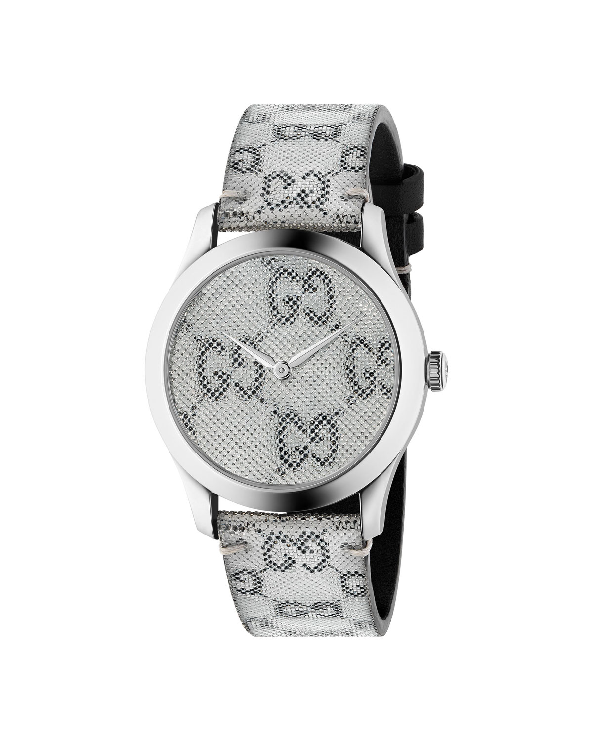 1d28c02c4b1 Gucci Men s GG Floating Dial Watch