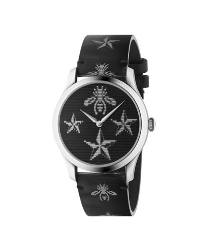 Men's Signature Bee & Star Floating Dial Watch