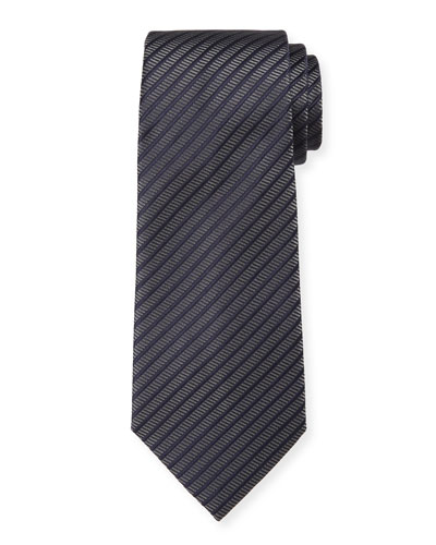 Men's Thin-Stripe Tie