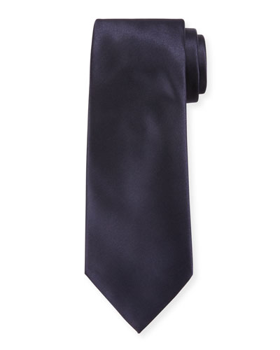 Formal Silk Satin Tie