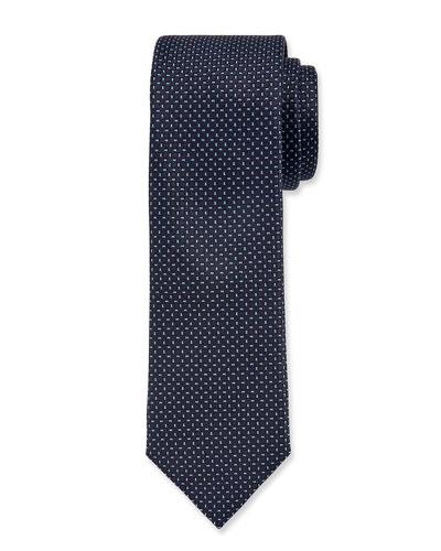 Men's Silk Circle Tie