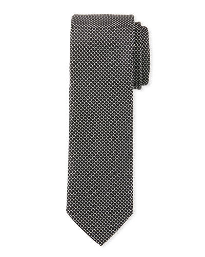 Men's Skinny Silk Tie