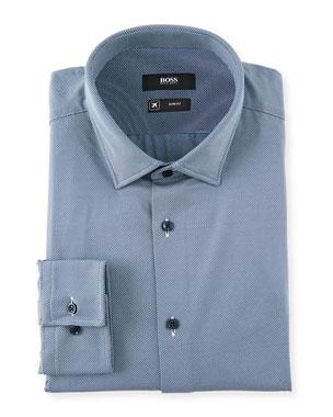 de364d63 BOSS Men's Performance Stretch Dress Shirt