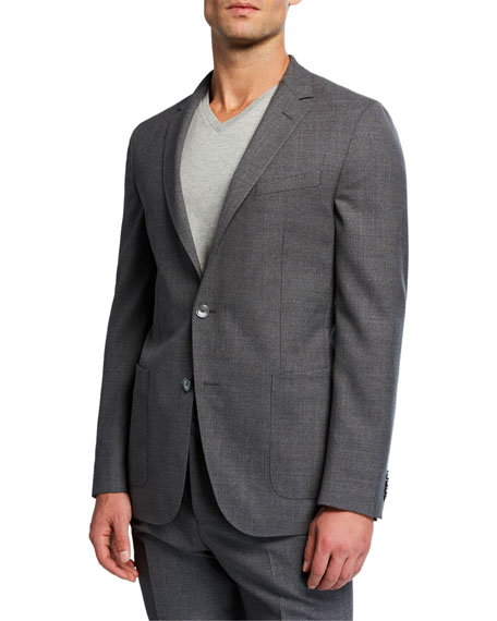 BOSS Men's Unlined Soft Two-Piece Suit