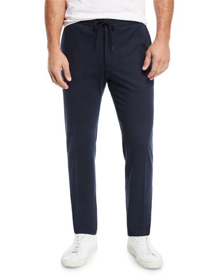 BOSS Men's Jersey Jogger Suiting Pants