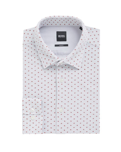 Men's Ronni Slim Fit Cotton Dress Shirt