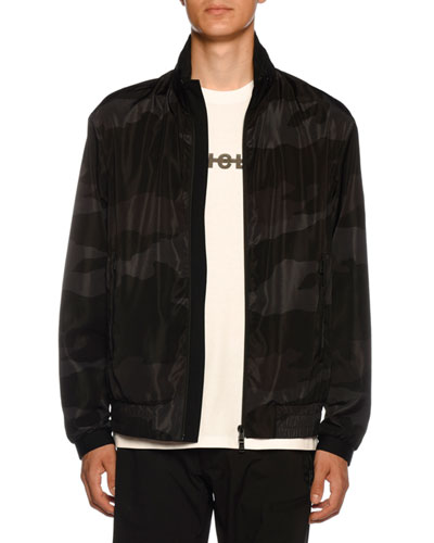 Men's Theodore Camo Nylon Jacket