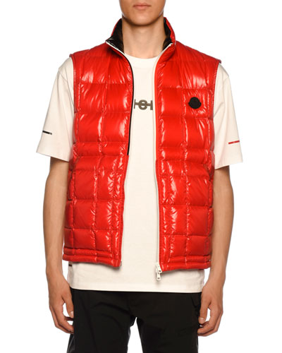 Men's Denain Square-Quilted Vest