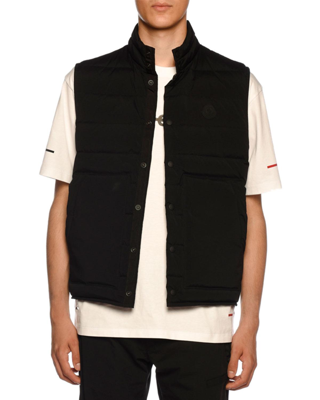 6ea1f6438 Moncler Men s Merak Snap-Front Vest