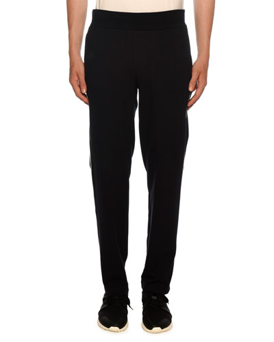Men's Piped Track Pants