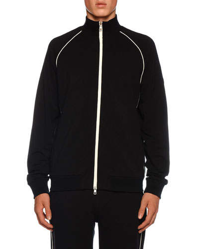 Men's Piped Track Jacket