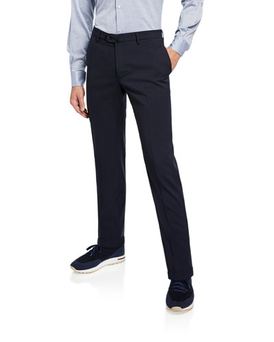 Men's Comfort Flannel Wool Pants