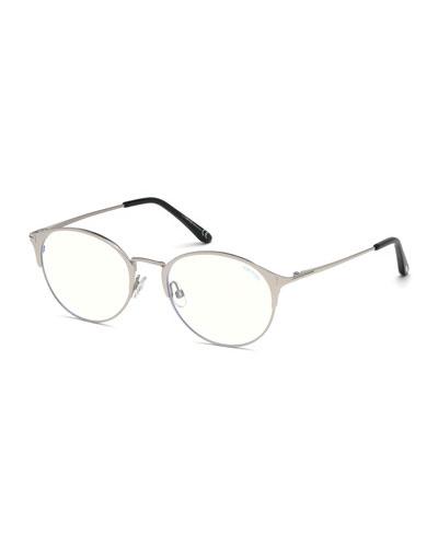 Men's Round Metal Optical Glasses