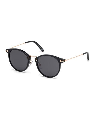 Men's Jamieson Metal and Plastic Sunglasses