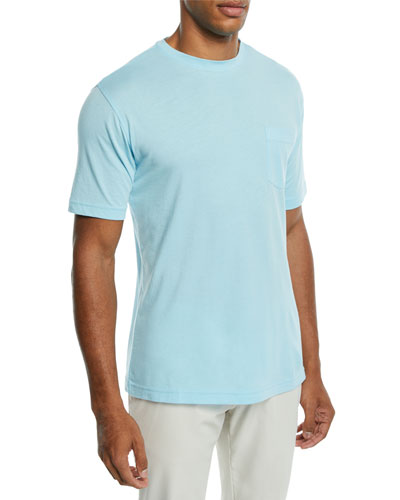Men's Seaside Summer Pocket T-Shirt