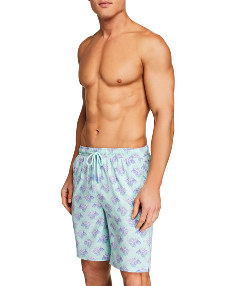 Peter Millar Men's Lion Fish Swim Trunks