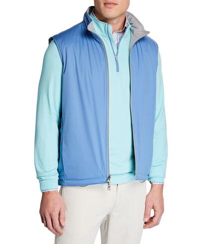 Men's Deuce Stretch-Knit Reversible Vest