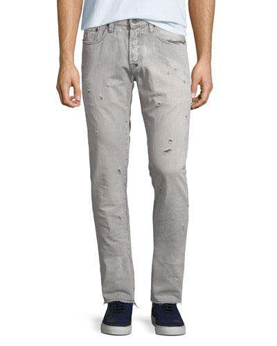 Men's Windsor Fit Stretch Denim Jeans