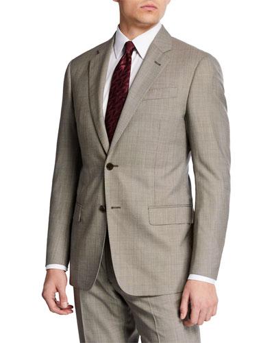 Men's G Line Super 140s Wool Two-Piece Suit