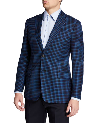 Men's Box Wool Sport Coat