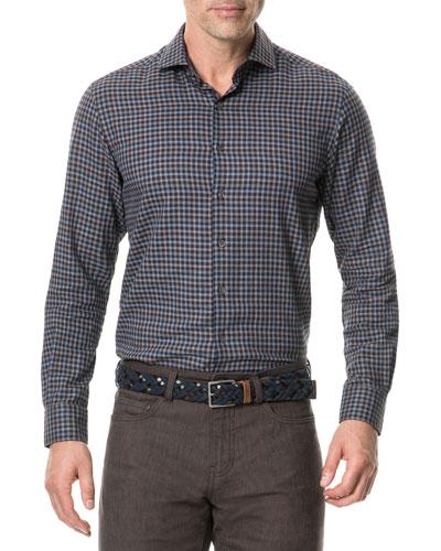 Men's Loburn North Check Sport Shirt