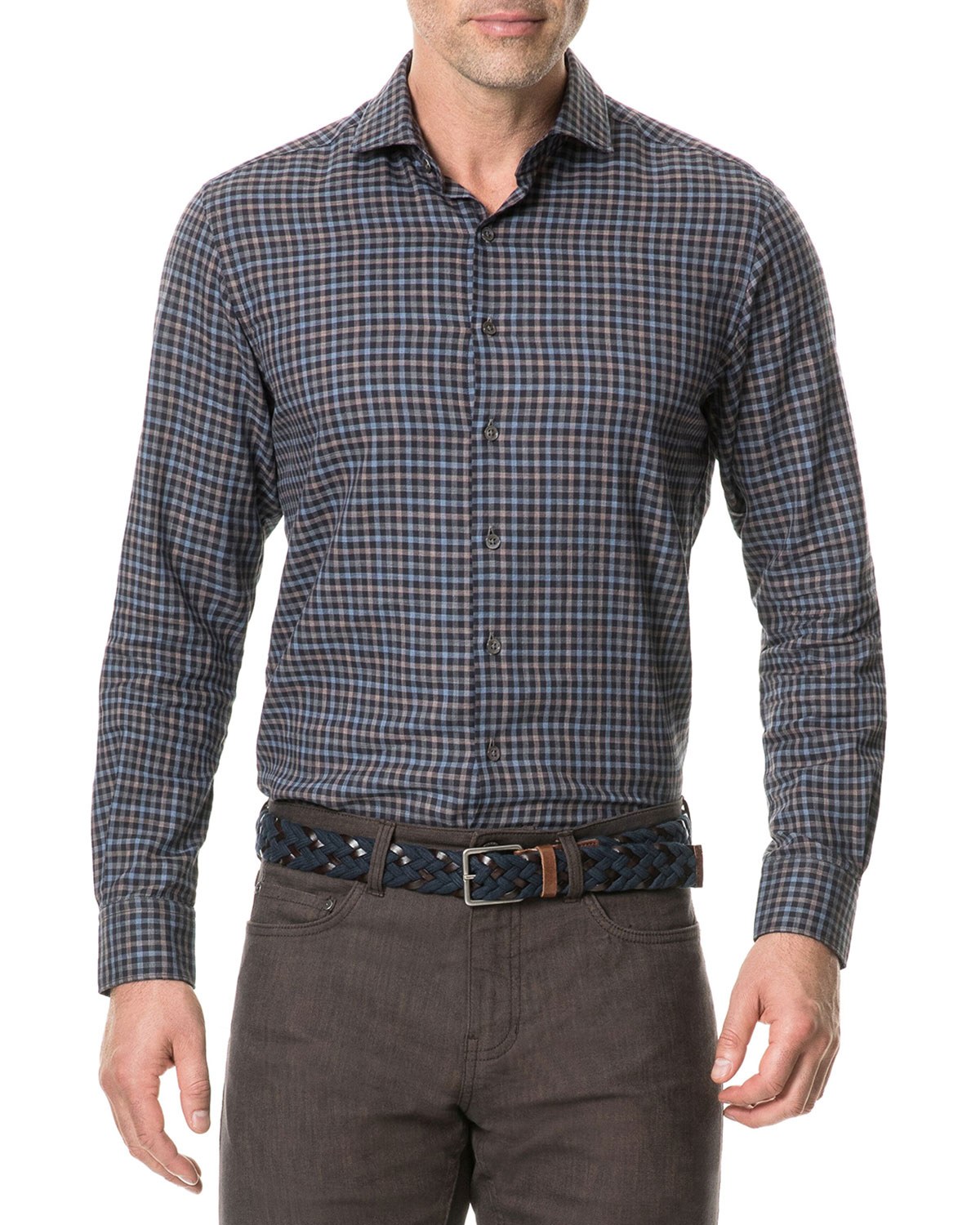 Rodd & Gunn Men's Loburn North Check Sport Shirt
