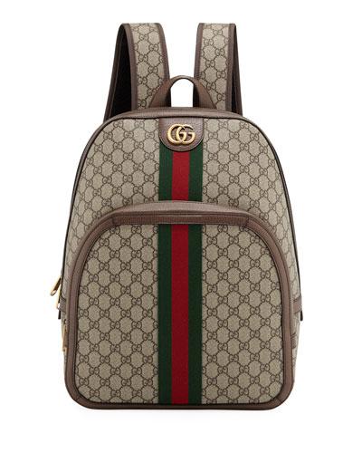 Men's GG Supreme Medium Canvas Backpack