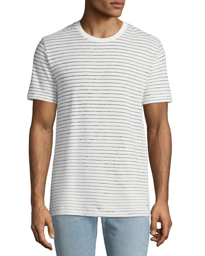 Men's Railroad Stripe T-Shirt