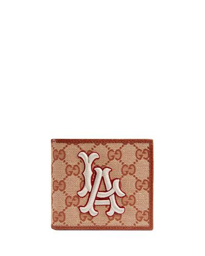 Men's LA Angels GG Supreme Wallet
