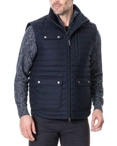 Men's Gapes Valley Quilted Zip-Front Vest
