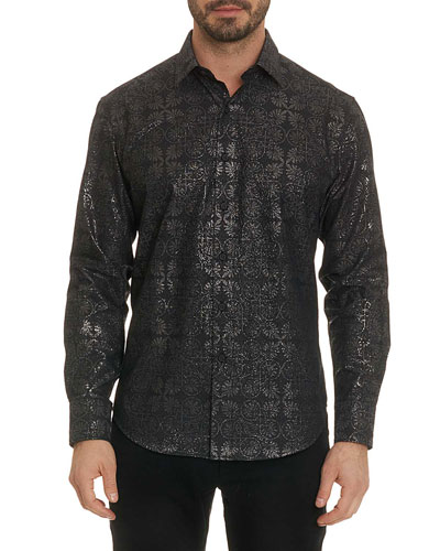 Men's Lismore Long-Sleeve Sport Shirt