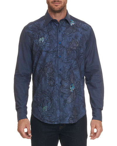 Men's Gandolf Long-Sleeve Sport Shirt