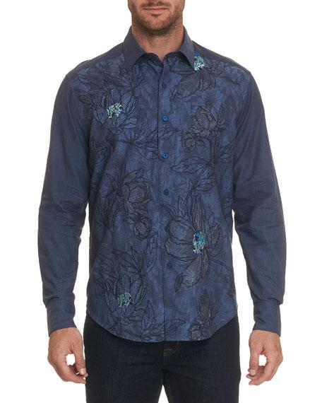 Robert Graham Men's Gandolf Long-Sleeve Sport Shirt