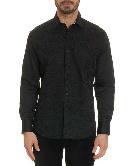 Robert Graham Men's Henderson Long-Sleeve Sport Shirt