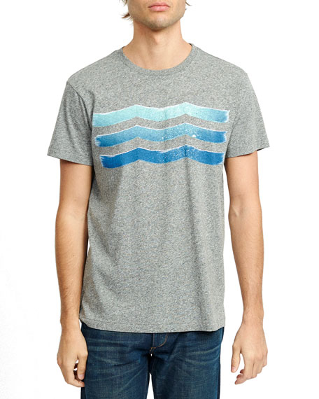 Sol Angeles Men's Oasis Waves Graphic T-Shirt