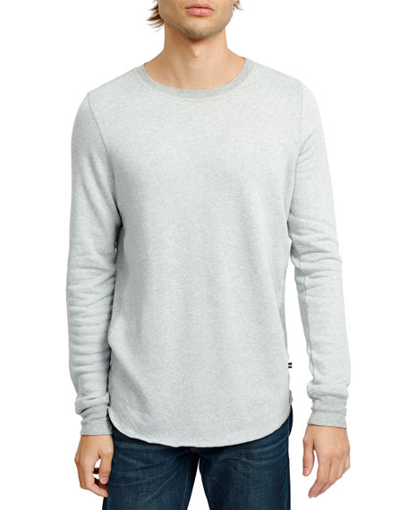 Men'S Sherpa Pullover T-Shirt in Heather